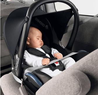 alquiler coche alicante silla bebe