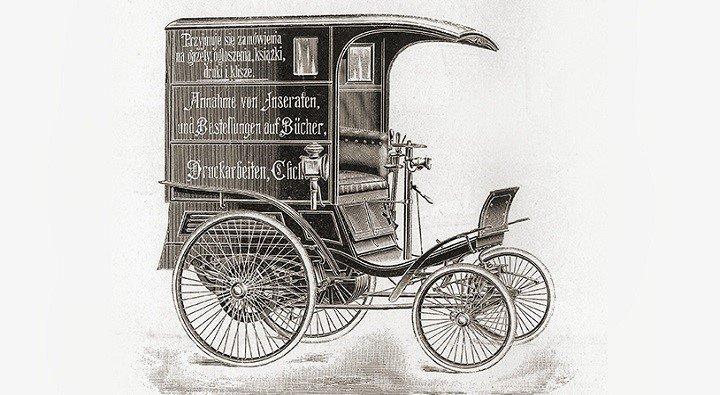 Así nació la primera furgoneta: dos inventores alemanes, una carga de cerveza y dos caballos cansados