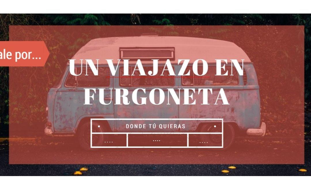 Ideas para regalo: un viaje en furgoneta hacia donde quieras