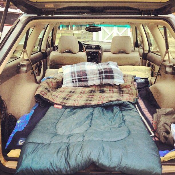 Consejos básicos para dormir en furgoneta