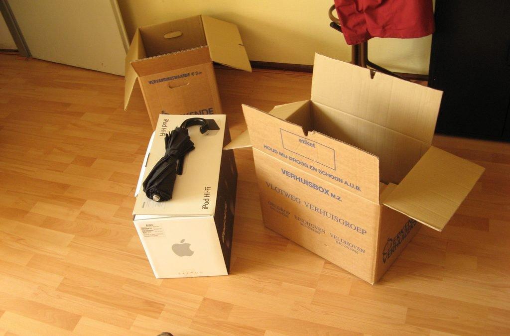 Cajas para mudanzas: ¡Guarda bien tus cosas!