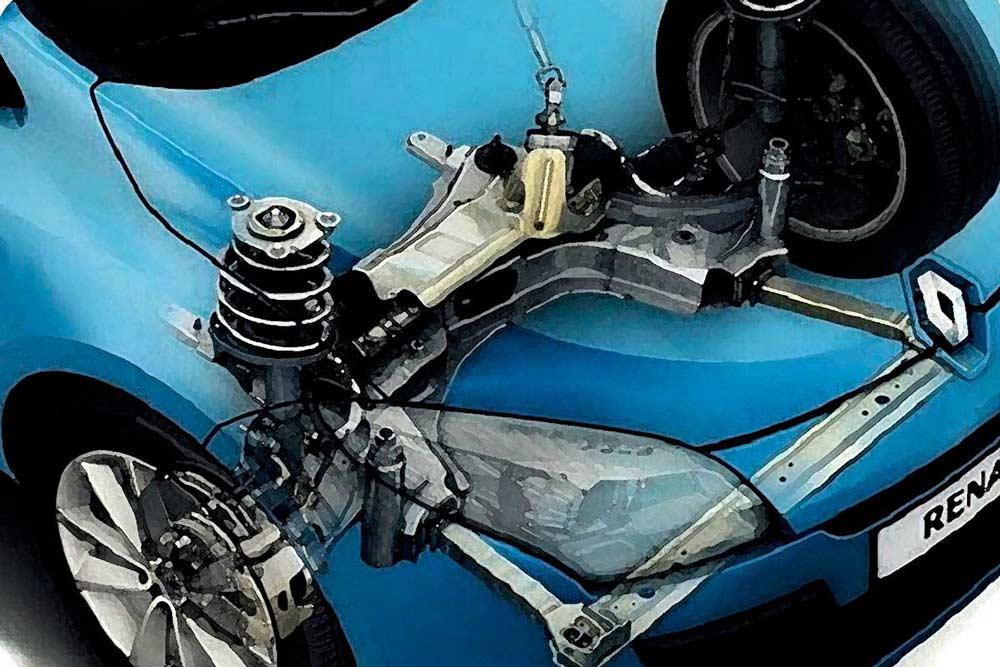 Los amortiguadores del coche: ¿Cuándo sustituirlos?